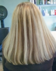 Instantly healthy healed hair, after having extensions